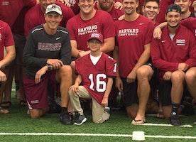 Harvard Football Recruits 9-Year-Old To Join Team