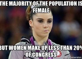 High School Boys Treated Like Women in Congress