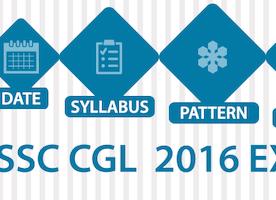 SSC CGL 2016 Exam: Date, Notification, Pattern, Syllabus