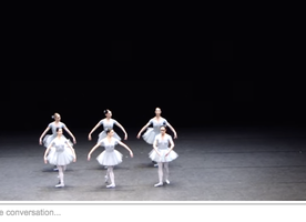 Ballet Choreographs Quirky Performance