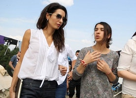Amal Clooney and Nadia Murad take on ISIS.