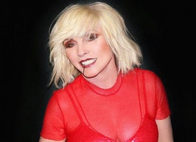 Rock Icon Debbie Harry Performing with Jazz Passengers at NYC Gala Fundraiser