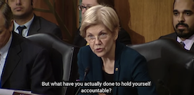 HOT VIDEO: Like Her or Not, Elizabeth Warren is a BADASS for Going after Crooked Wells Fargo CEO