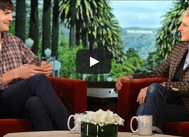 Ashton Kutcher Shocks Ellen With Brutally Honest Talk On America's Lazy Entitlement Mentality