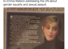 Emma Watson Spoke Up About Gender Equality. Now She's Getting Bullied by the Press. WTF??
