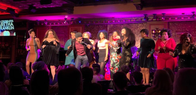 Broadway Divas Celebrates Aretha Franklin at  Feinstein's/54 Below on February 17, 2019