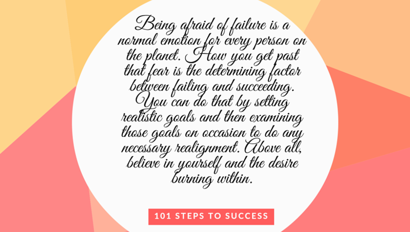 Getting Past Fear of Failure