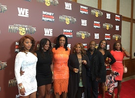 "The WE TV screening of ""Growing Up Hip Hop"" and ""Money.Power.Respect"""