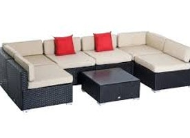 Outdoor Patio Sofa Sectional Furniture Set
