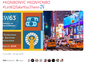 This Mushin Boy is Off to Manhattan! 2019 CSW 63 promotes Responsible Tourism with Kenya Airways