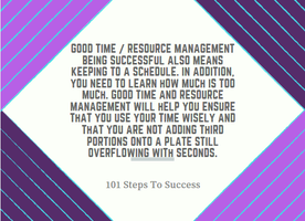 Good Time / Resource Management