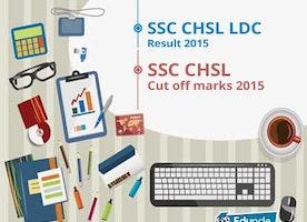 SSC CHSL LDC Result 2015 | SSC CHSL Cut off marks 2015