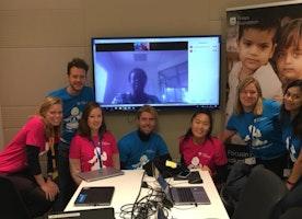 Philips volunteers help raise awareness for childhood pneumonia with Amref Uganda