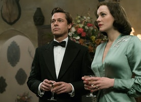 "The film ""Allied"" is in theaters November 23, 2016"