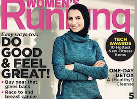 "An Islamic Athlete Is on the Front Page of a Magazine, and Readers Are More Focused with Racism, Than ""Running"""