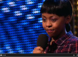 Asanda Jezile the 11yr old diva sings 'Diamonds'. You'll not believe your eyes when you see this but you will.