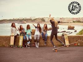 Longboard Girl's Crew