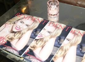 Renée Willett Celebrates Resident Magazine Cover in New York City