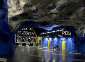 The Stockholm Subway Takes Art Underground