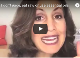Why I Don't Juice, Eat Raw, or Use Essential Oils