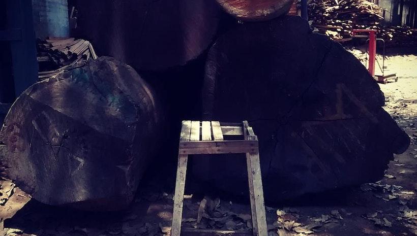 A stool that spoke to me