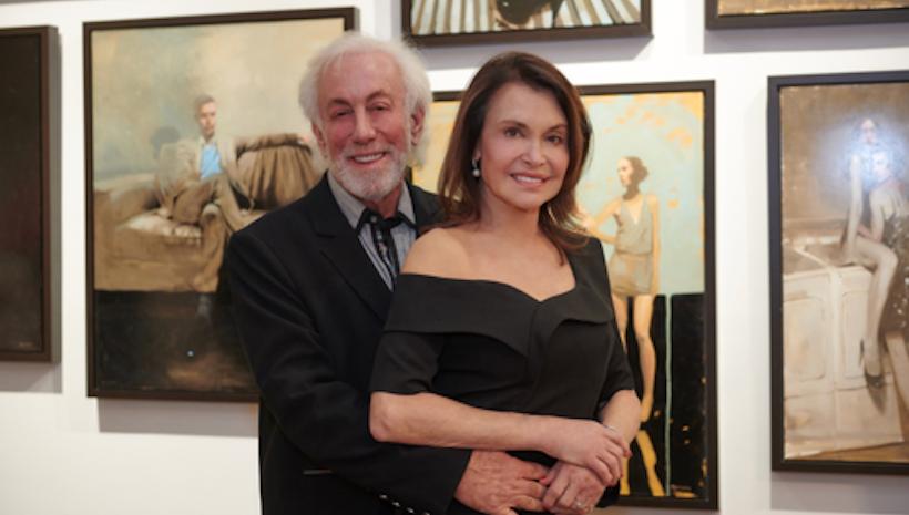 Irene Michaels and Arny Granat Celebrate Resident Magazine Cover