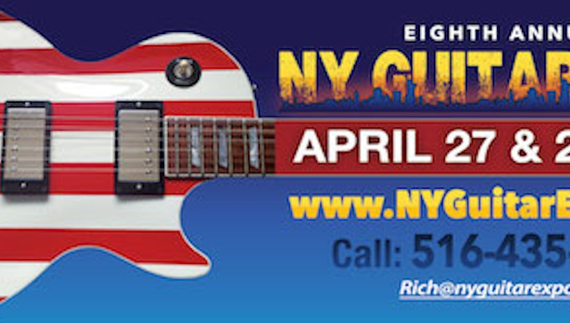8th Annual NY Guitar Expo...Not the Same Old Guitar Show!