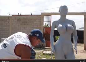 Busty Mannequins and an Inflated Sense of Beauty in Venezuela