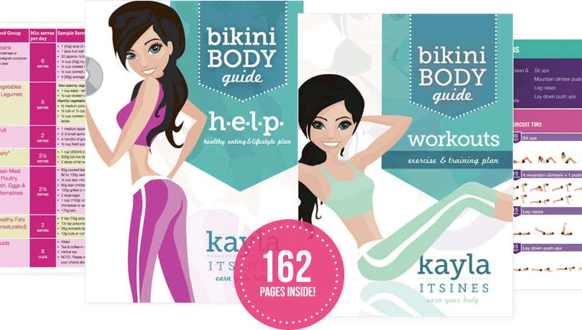 Bikini Body Guide by Kayla Itsines - Healthable