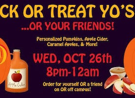HEY! CMU: Trick or Treat Yo'Self.. Or Your Friends!