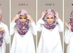 5 Different Ways to Wear a Pinless Hijab