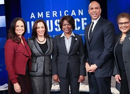 "Award Winning Journalist Soledad O'Brien Hosts the BET Town Hall ""American Justice"""