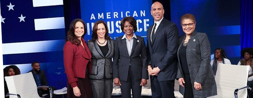 "Award Winning Journalist Soledad O'Brien Hosts the BET Town Hall ""American Justice"""