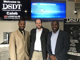 Great Visit with the Gentlemen at Detroit School for Digital Technology