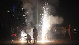 A 'pollution-free' Diwali
