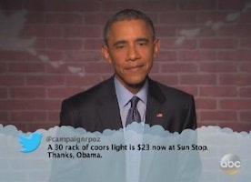 Barack Obama Reads Mean Tweets #2