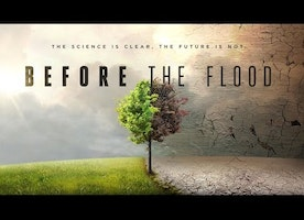 Before The Flood: A wake up call to us all.