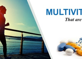 Multi-Vitamins - Diet with essential vitamins and minerals
