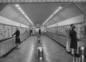 The Vending Machine Supermarket, 1948. WOW!!!