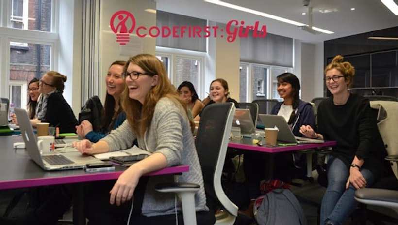 Learn how to code with Code First: Girls