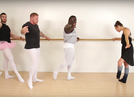 Bodybuilders Try Ballet for the First Time and I can't stop laughing!