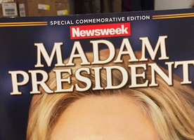 Newsweek just announced the Presidential Election results!