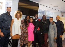 Cast of Queen Sugar in NYC