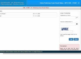 IBPS PO Result 2016 | Prelims & Mains Cut off Marks (Declared)