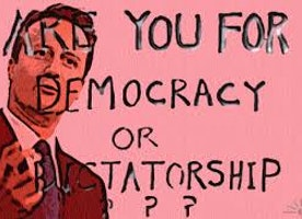 Democracy or Dictatorship?