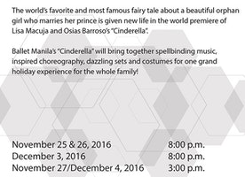 Cinderella (Ballet Manila's 21st Performance Season)