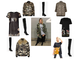 Khloe Kardashian Wore Her New Boyfriend's Camo Jacket On Veteran's Day- Kopy Her Look For Less