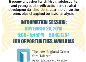 Autism Related Job Opportunity!!