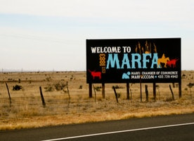 Marfa on the Map