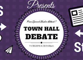 University Debates: Is free speech threatened on